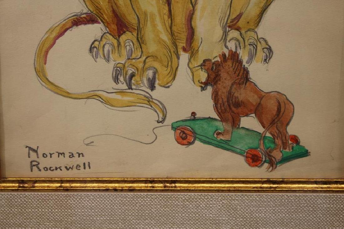 Attr. Norman Percevel Rockwell (1894 - 1978) - 3