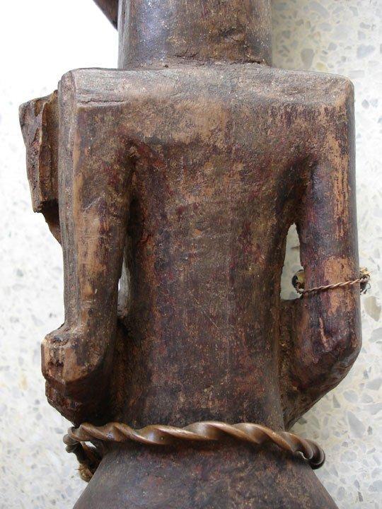 Early 20th C. Kalebwe Type Songye Nkisi Figure - 6