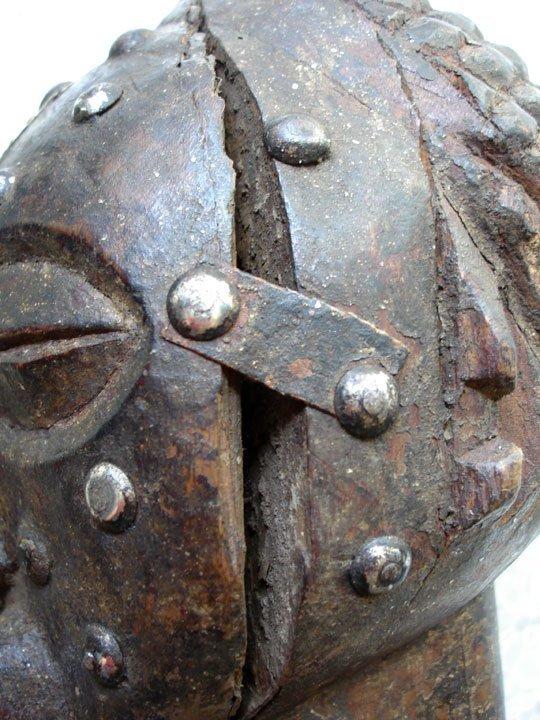 Early 20th C. Kalebwe Type Songye Nkisi Figure - 8