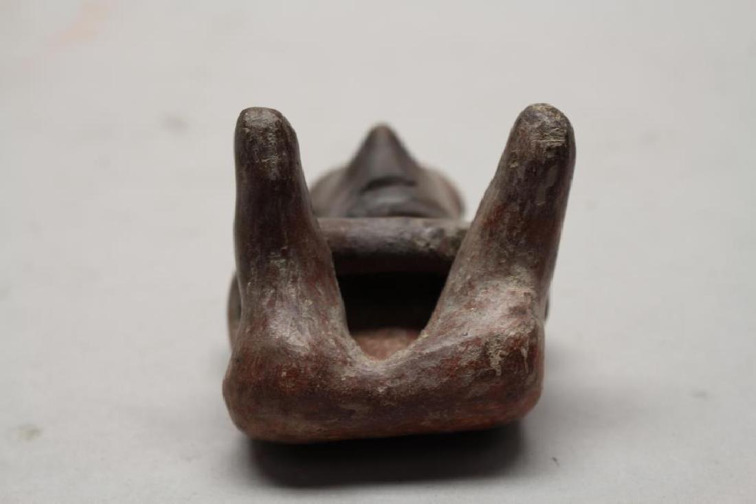 Pre-Columbian San Sebastian Type Seated Figurine - 8