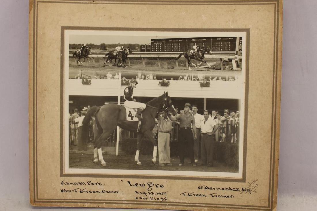 (6) Horse Racing Photos, Randall, Cranwood Park - 2