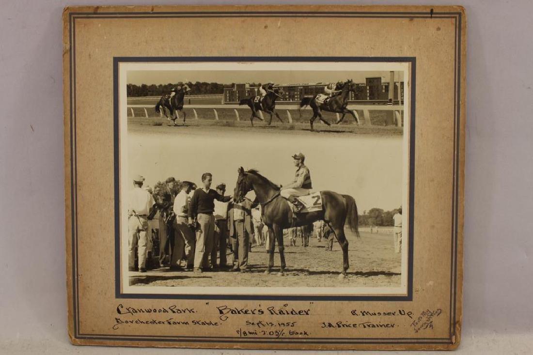 (6) Horse Racing Photos, Randall, Cranwood Park - 4