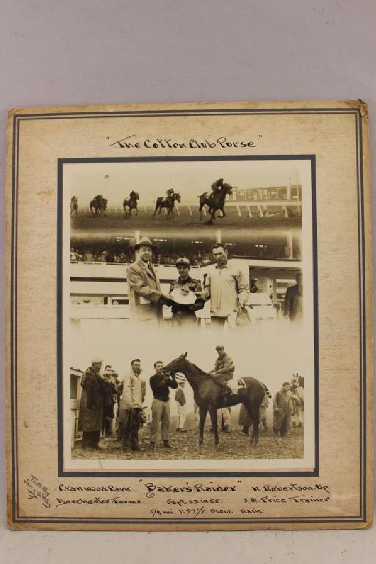 (6) Horse Racing Photos, Randall, Cranwood Park - 5