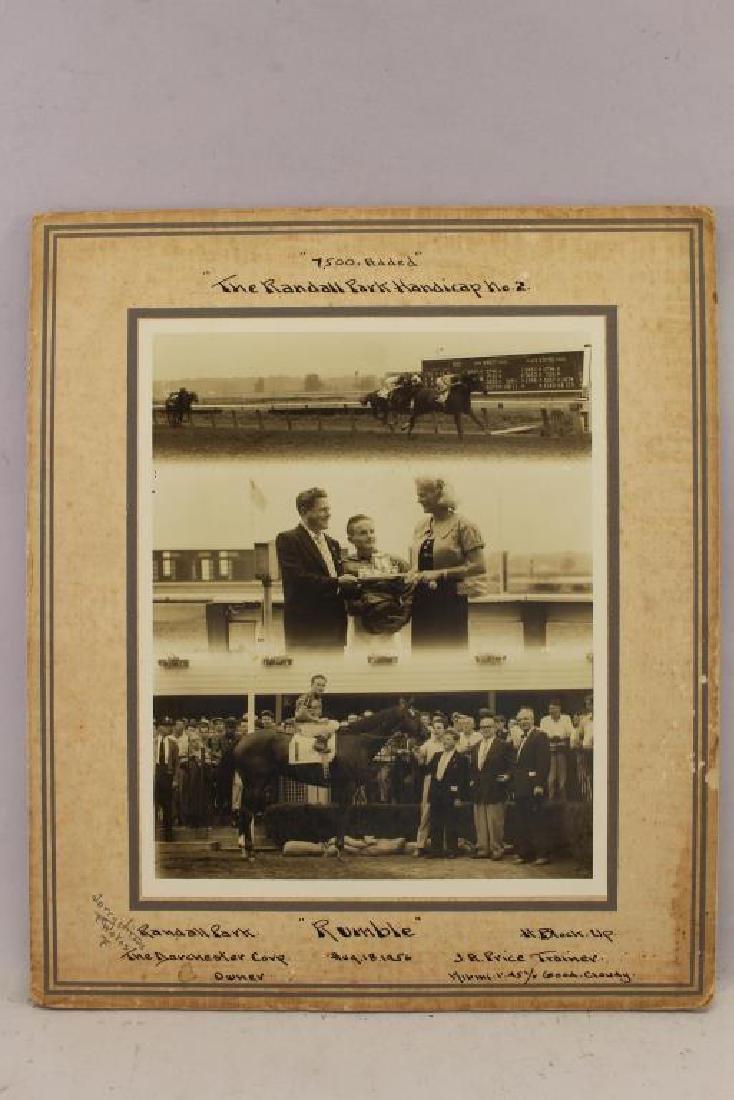 (6) Horse Racing Photos, Randall, Cranwood Park - 6