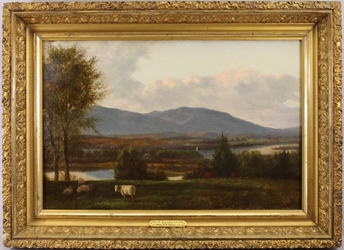 Attr. Frederick Rondel (1826-1892) Hudson River