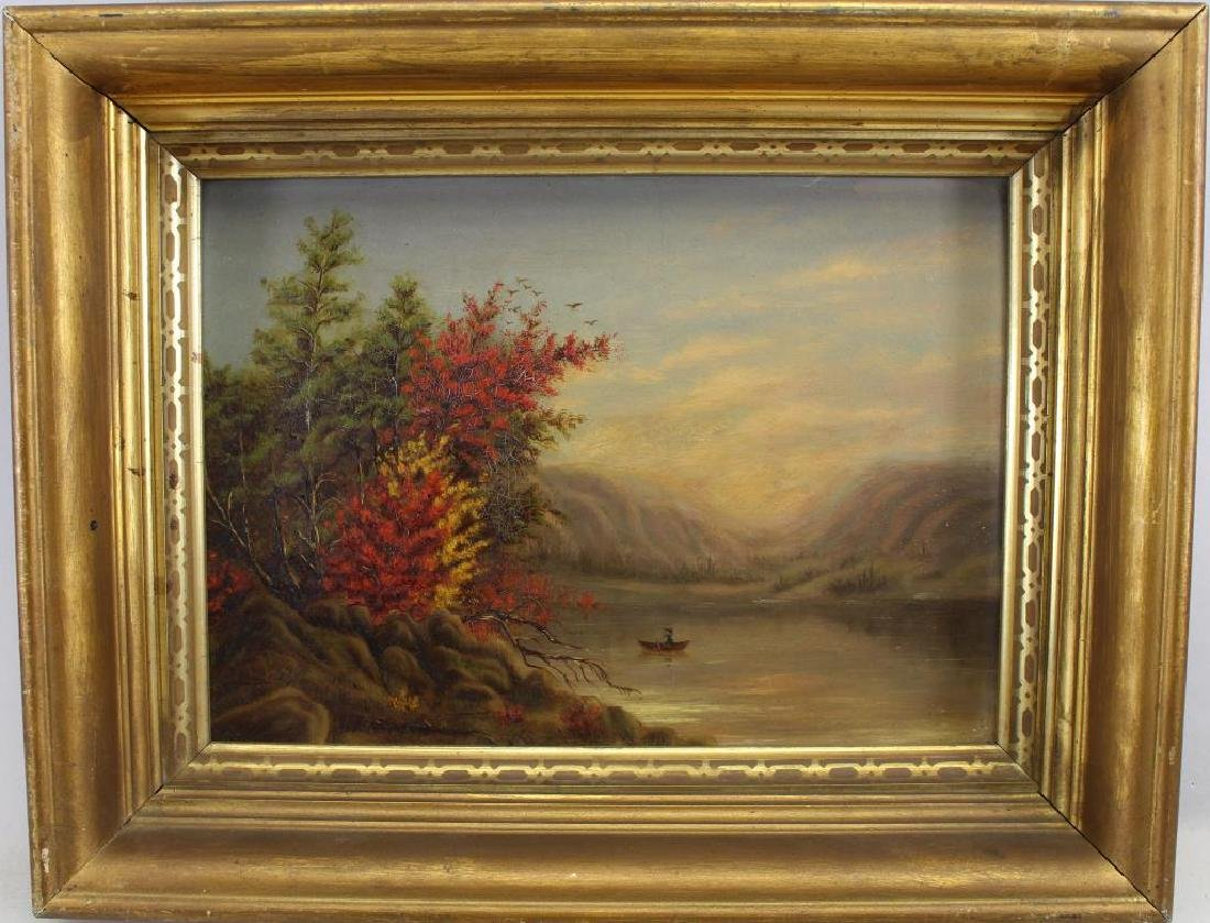 19th C. Hudson River School Painting