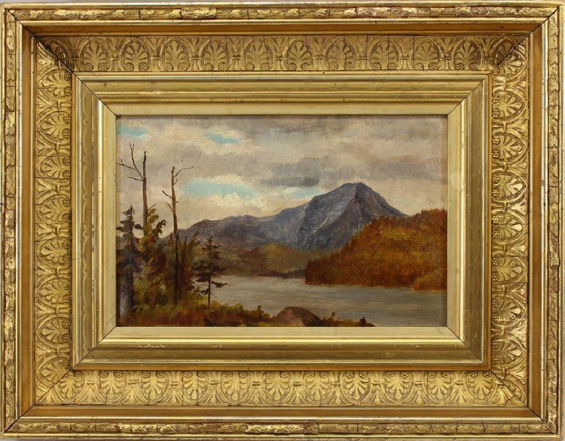 Fine 19th C. Hudson River School Landscape