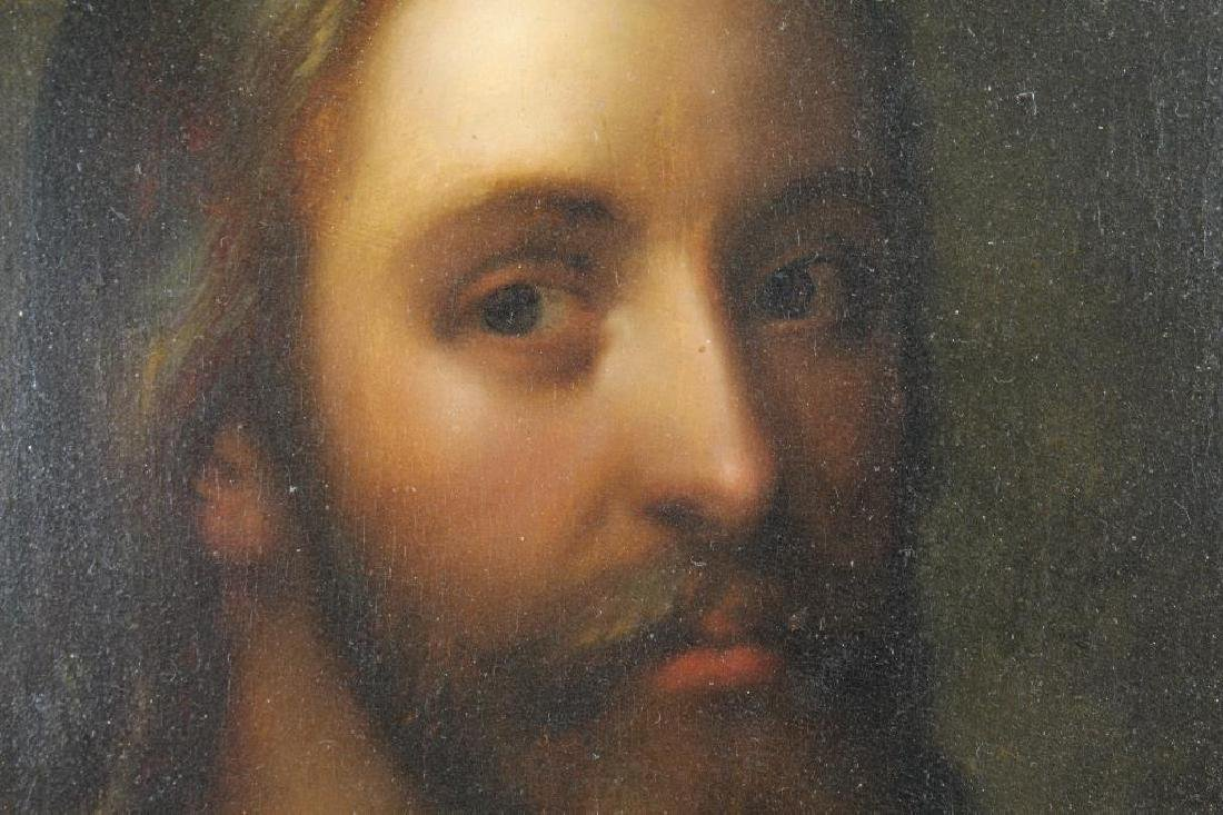 17th C. Portrait of Jesus, Ex Christie's - 2