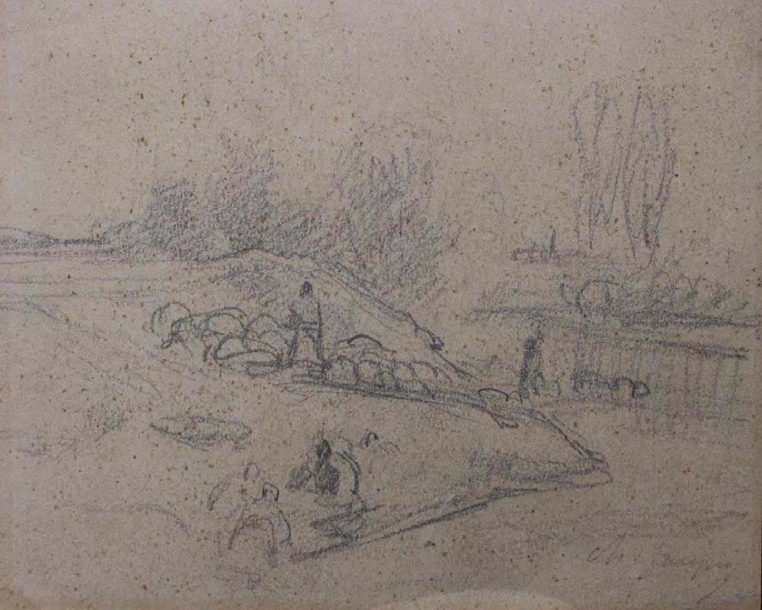 Charles Emile Jacque (France, 1813 - 1894)