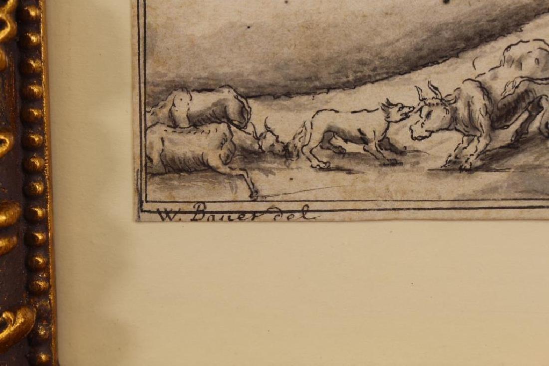 Johann Wilhelm Baur (1607 - 1641) Ink Drawing - 4