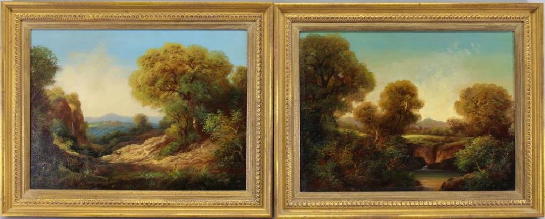 (2) Signed 19th C. English Landscapes