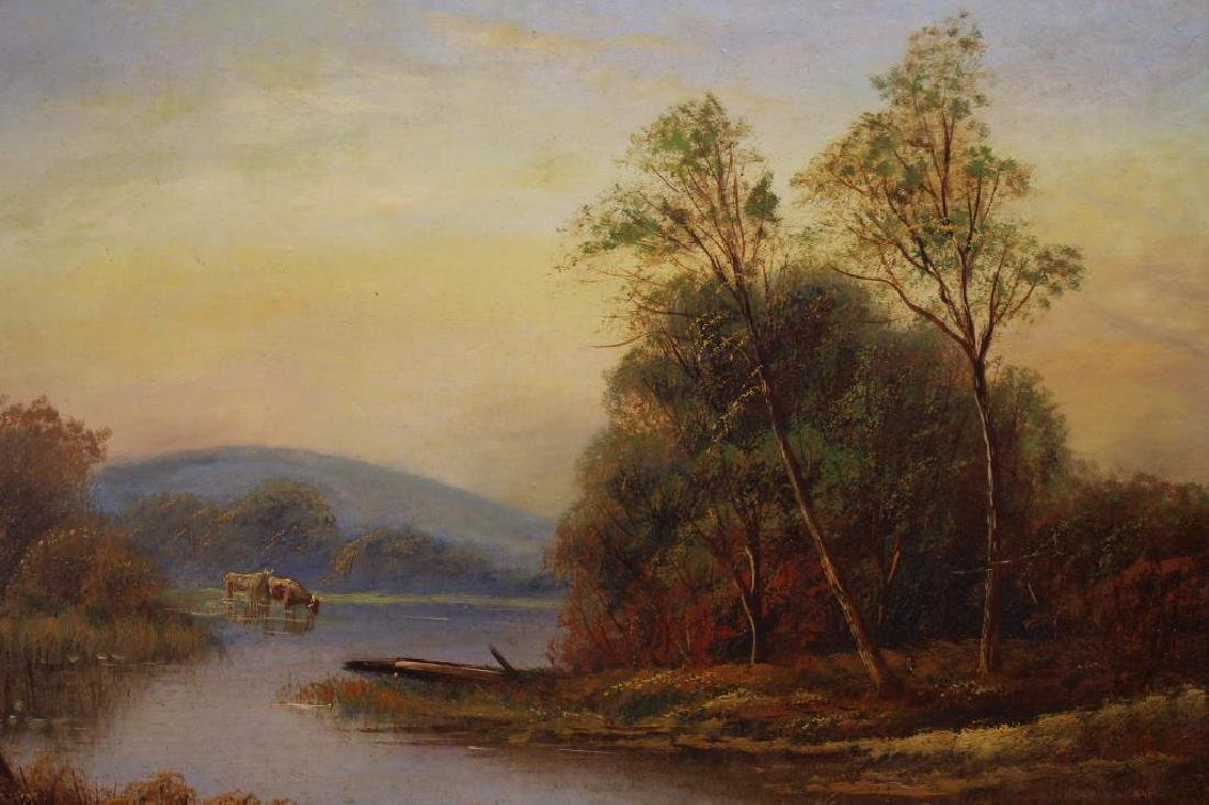 T. Wood (UK, 19th C) Pair of English Landscapes - 2