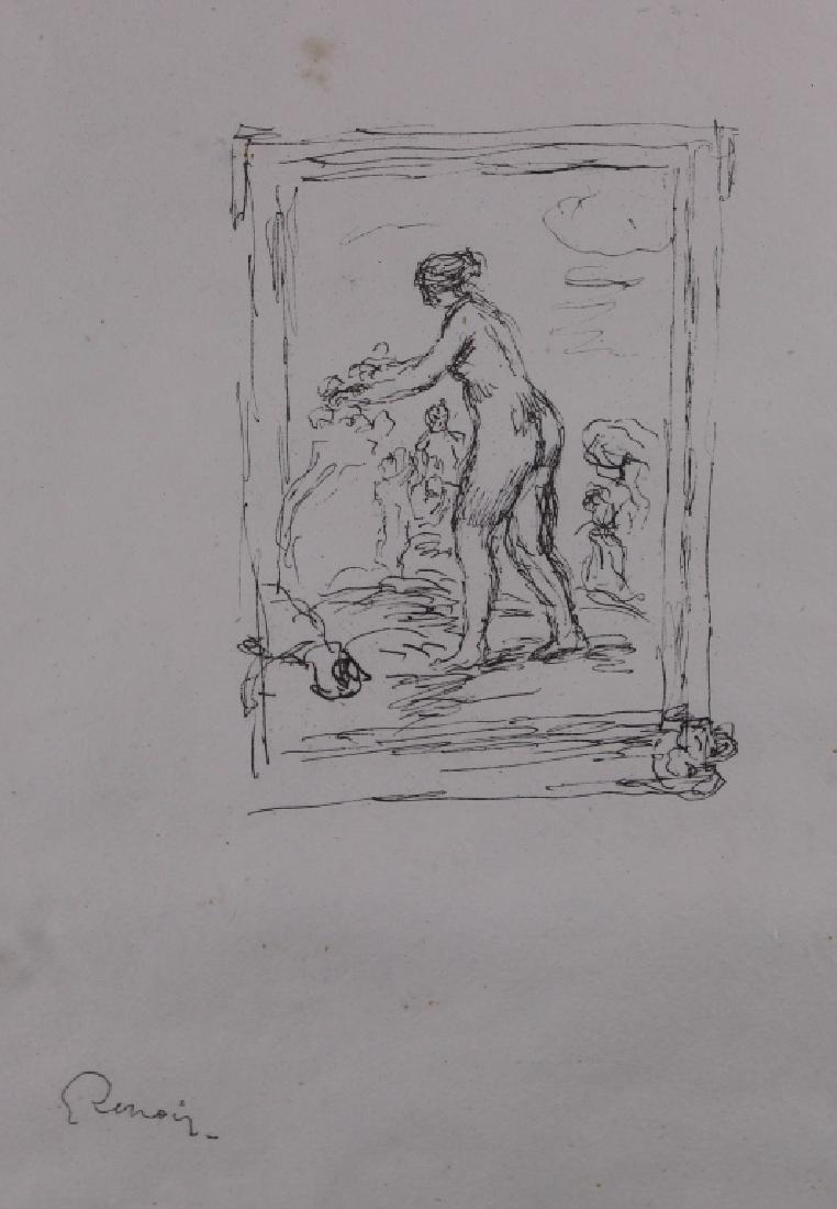 Auguste Renoir (1841-1919) Etching - 2