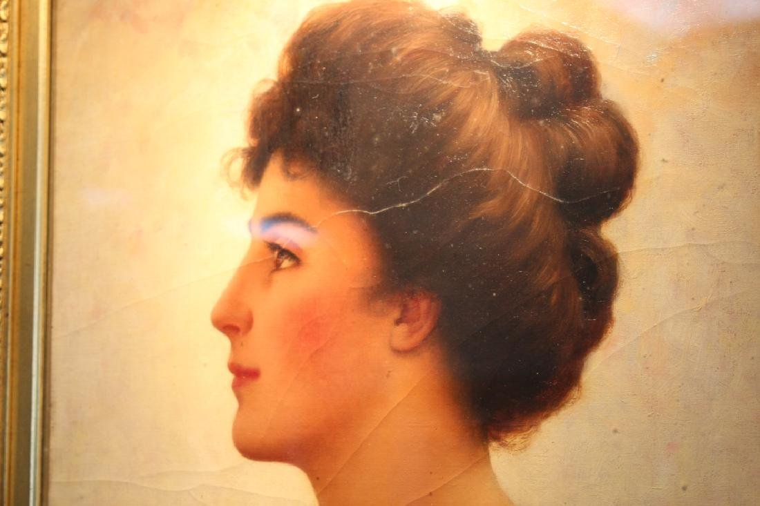 Walter Blackman (1847-1928) Portrait of a Female - 3