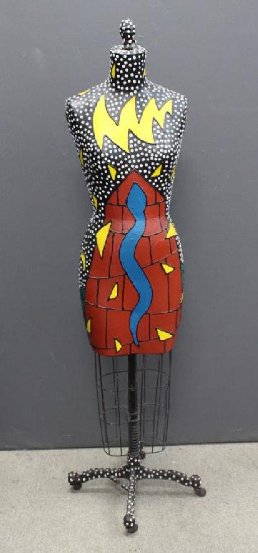 Signed NT '87, Pop Art Mannequin