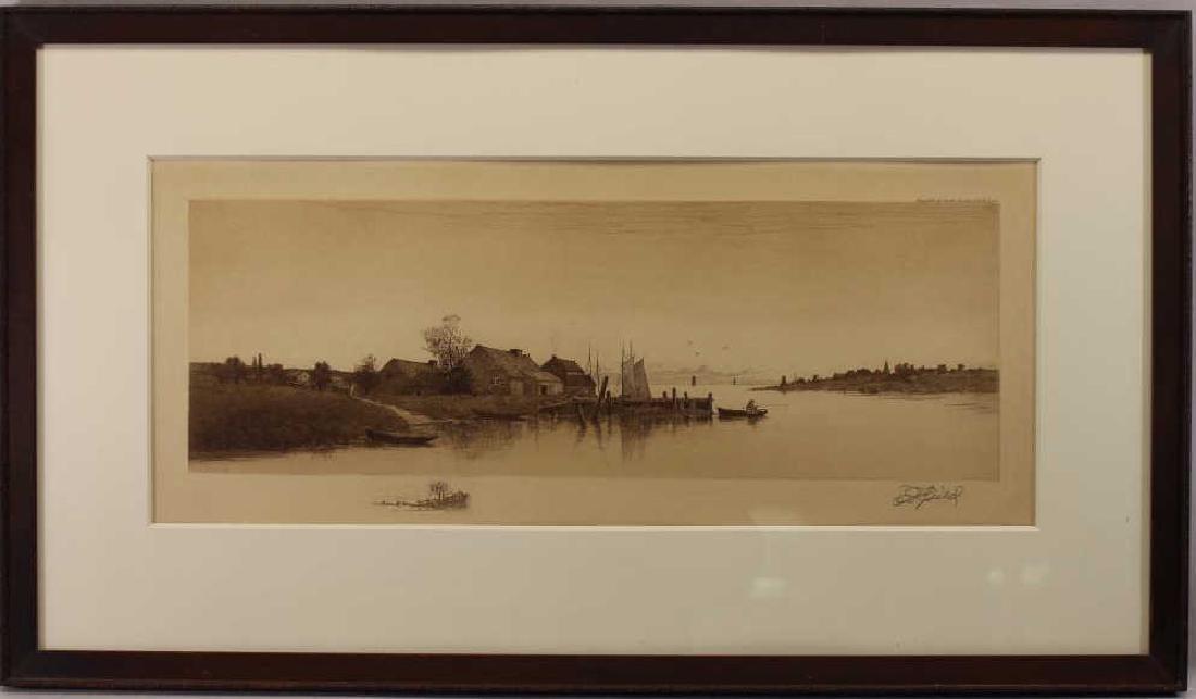 Edward Loyal Field (1856-1914) Engraving