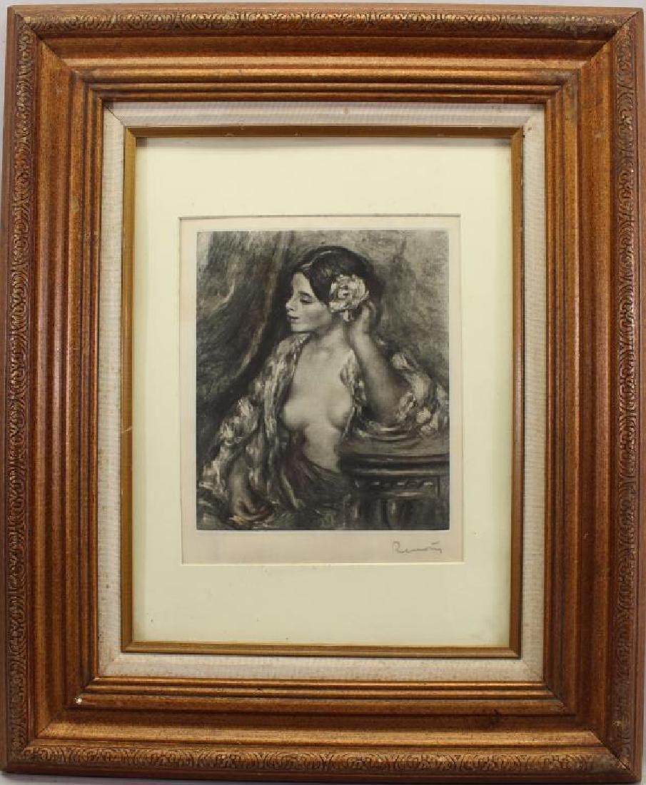 Pierre Auguste Renoir (1841 - 1919) Etching