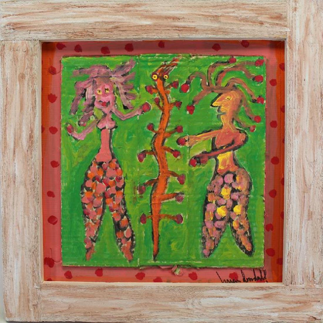 Brian Dowdall (born 1948) Outsider Art