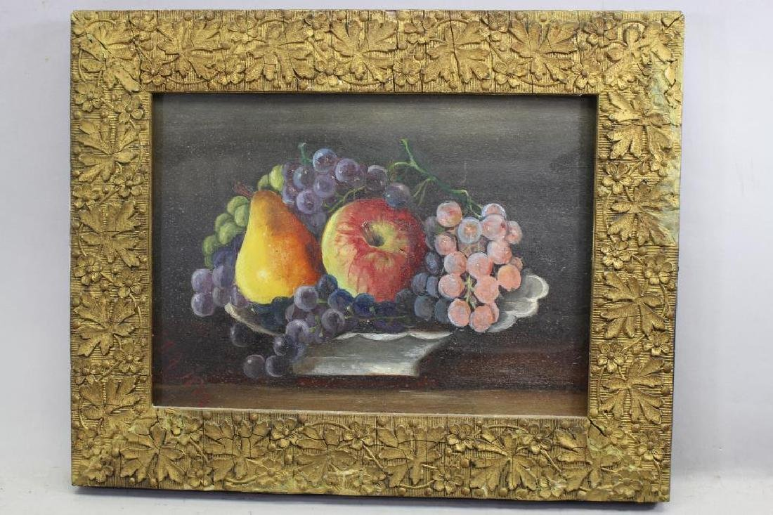 American School 1882, Still Life of Fruit