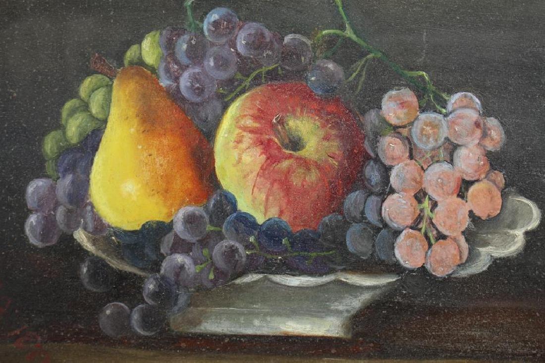 American School 1882, Still Life of Fruit - 2