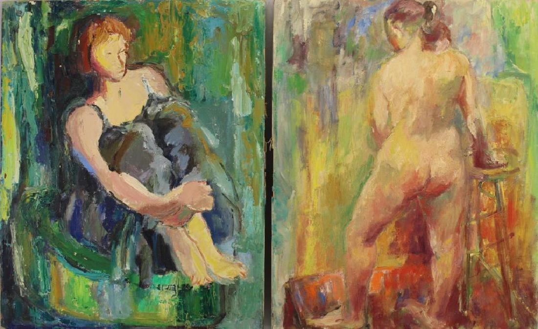 (5) Yolanda Fusco (1920 - 2009) Paintings