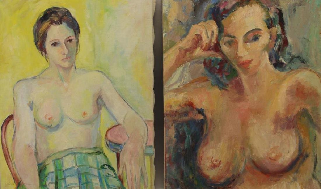(5) Yolanda Fusco (1920 - 2009) Paintings - 2