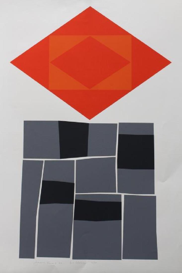 (3) Harold Krisel (1920 - 1995) Screenprints