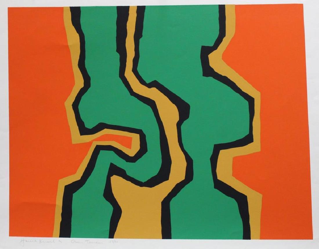 (3) Harold Krisel (1920 - 1995) Screenprints - 3