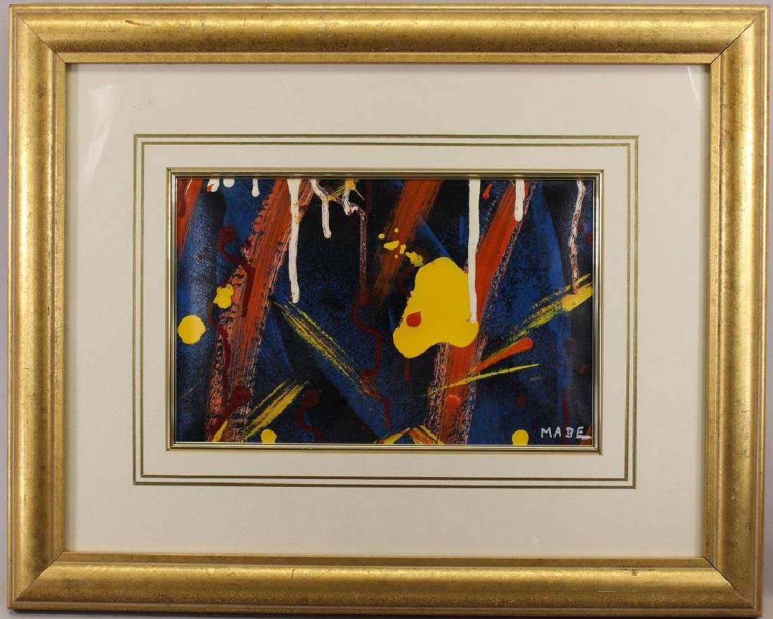 Signed, 20th C. Abstract Oil Painting