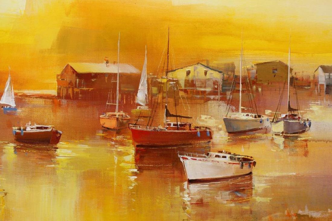 (4) Wilfred (B. 1954 Hawaii Netherlands) Paintings - 2