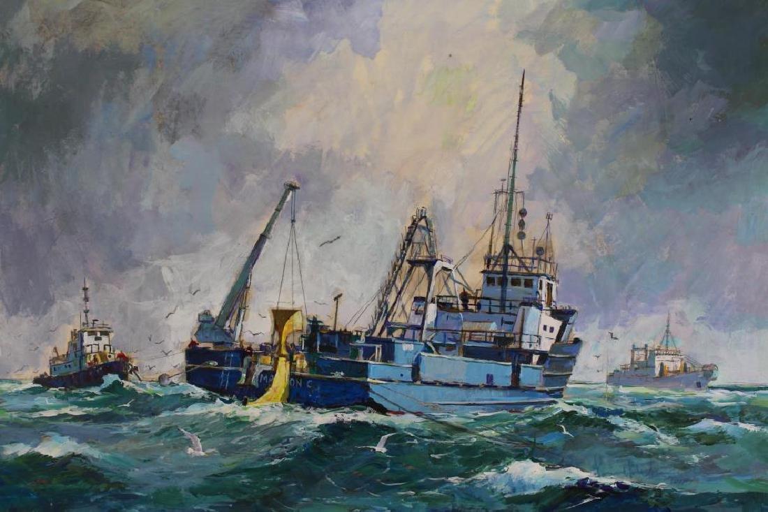 "Loren Frederick Wilbur A.W.S. ""Mullet Fishermen"""