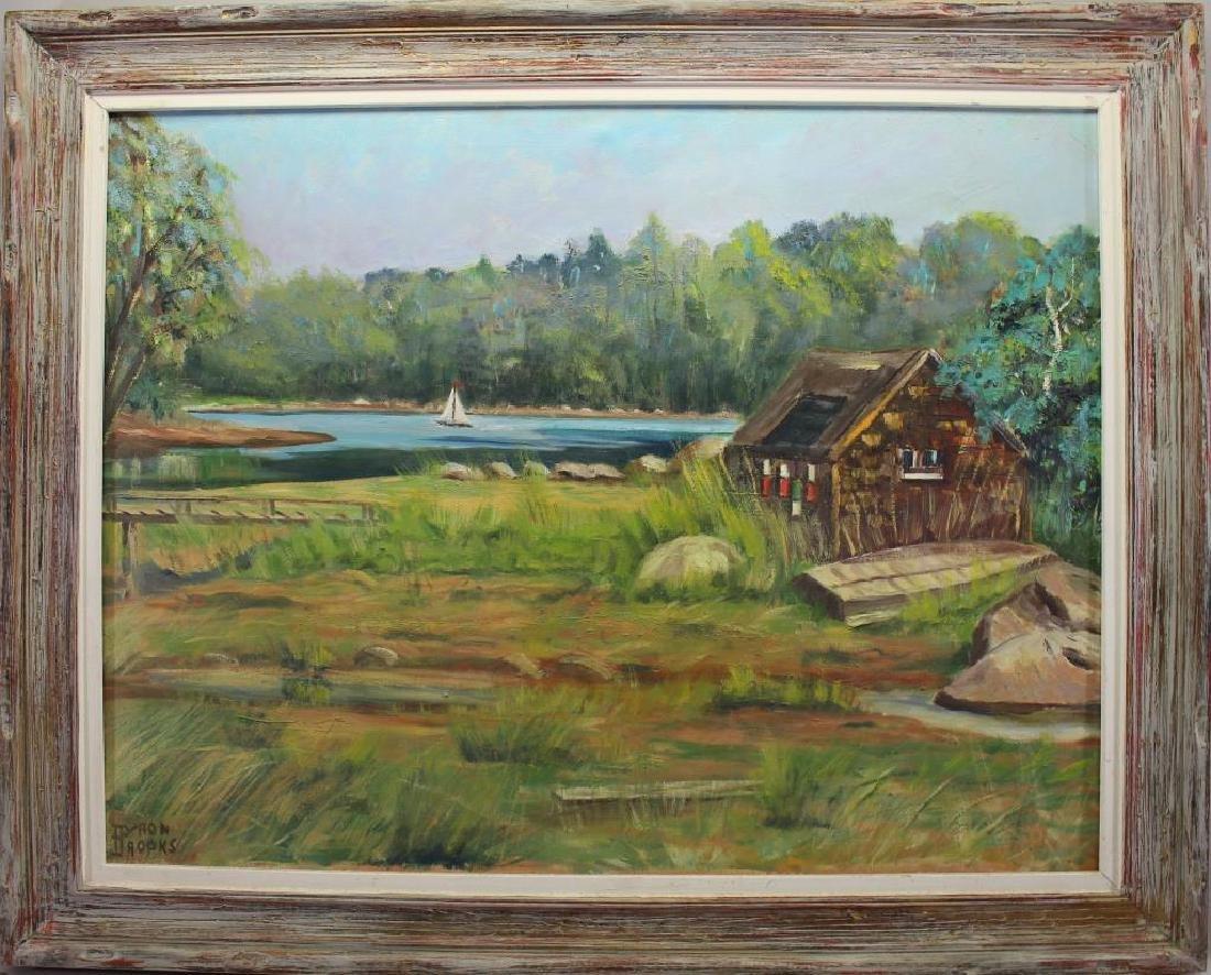 Byron Brooks, New England Coastal Scene