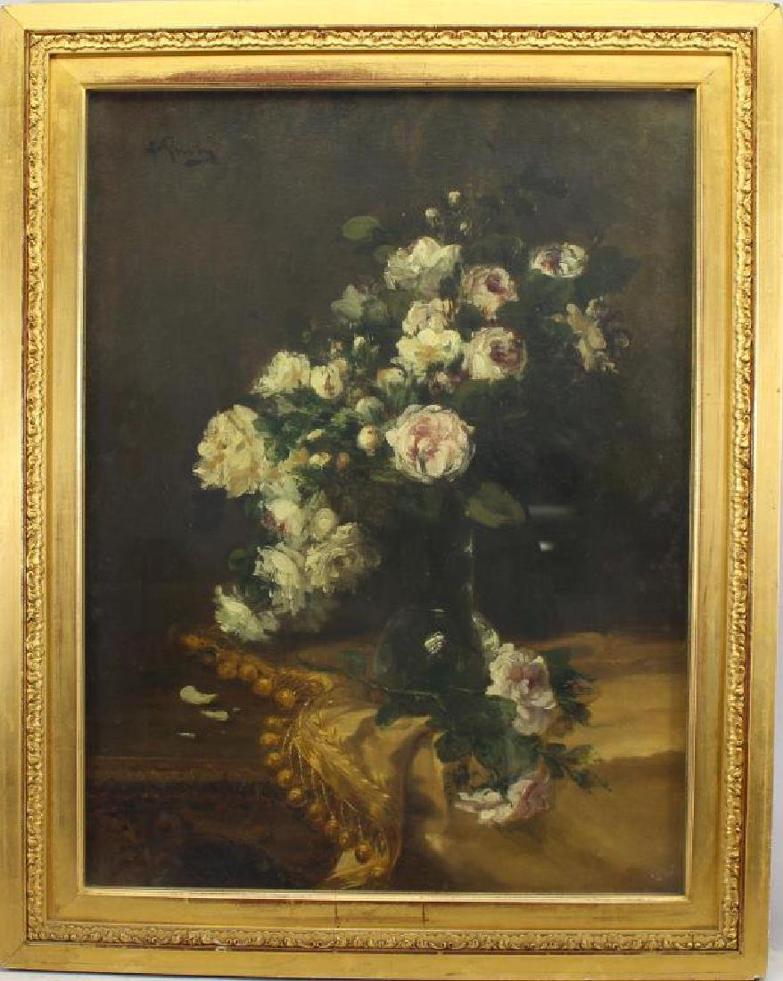 Signed, Exceptional 19th C. French Still Life