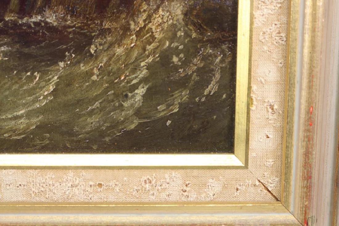 """""""Pier at Calais France"""" Thomas Robins (1810-1880) - 5"""