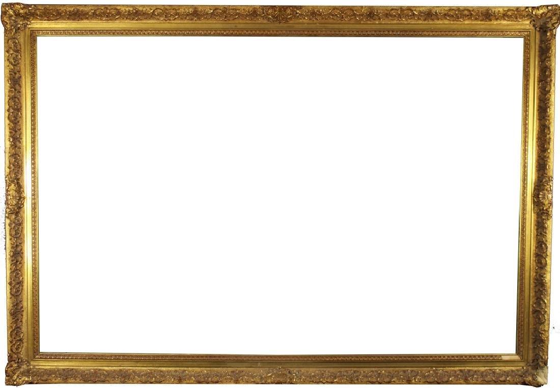 Antique Gilt/Carved Wooden European Frame