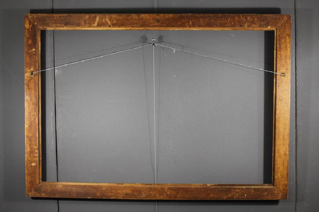 Antique Gilt/Carved Wooden European Frame - 3