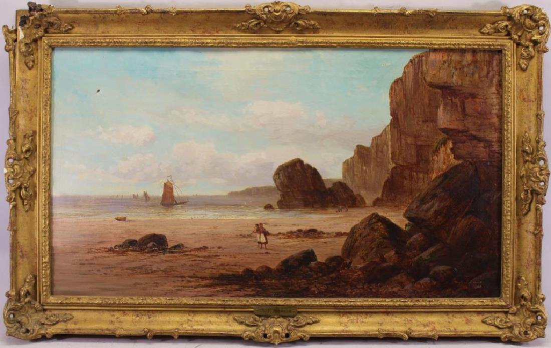 Samuel Yates Johnson, 1900 Coastal Painting