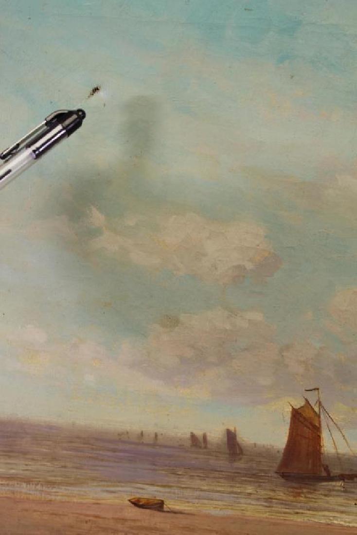 Samuel Yates Johnson, 1900 Coastal Painting - 2