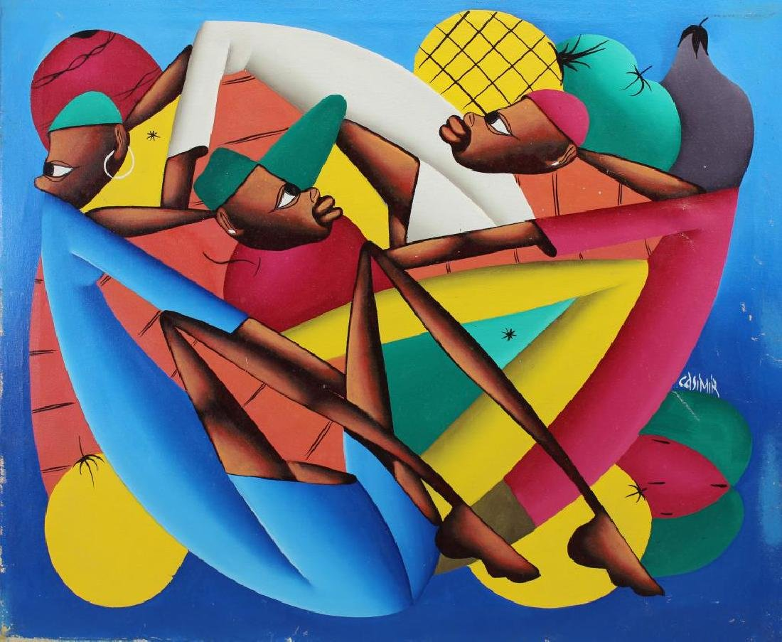 Laurent Casimir (Haiti, 1928 - 1990)