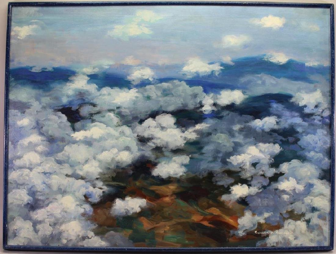 """Frederic Reiniger, """"View from Flight"""""""