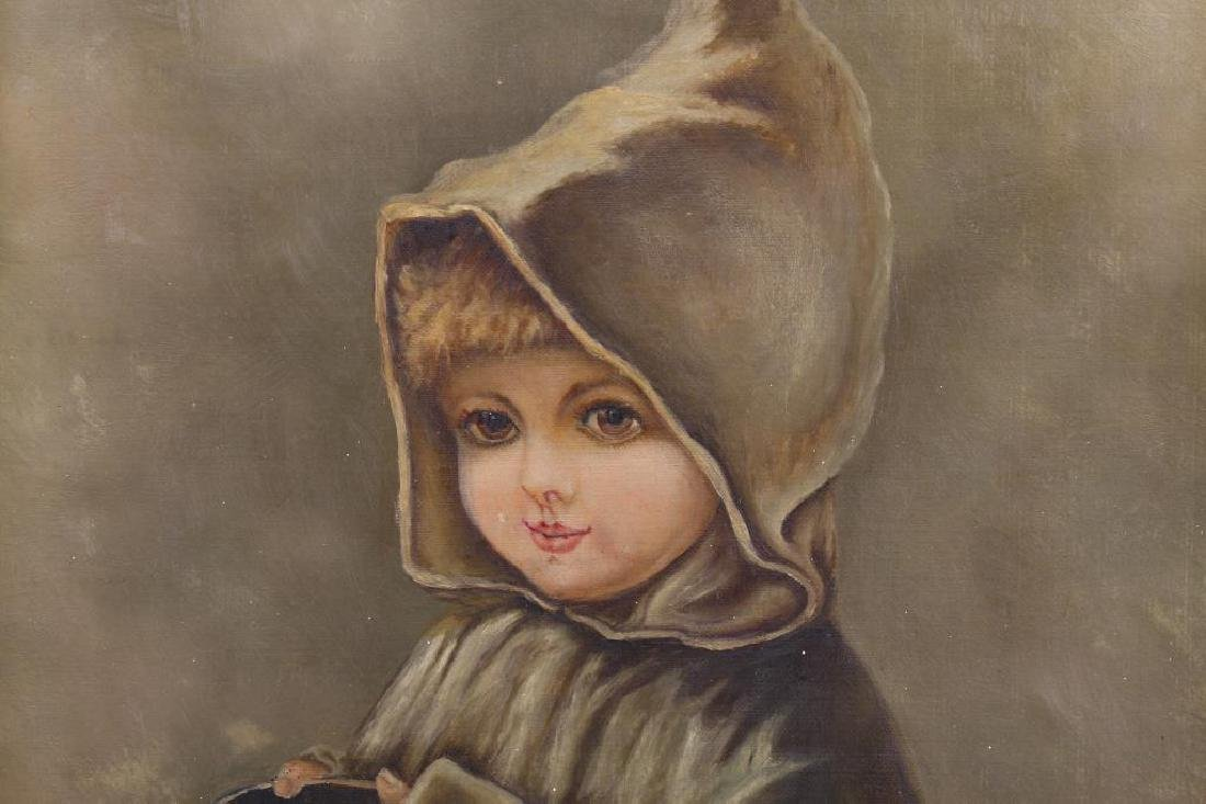 American School Portrait of a Young Girl - 2