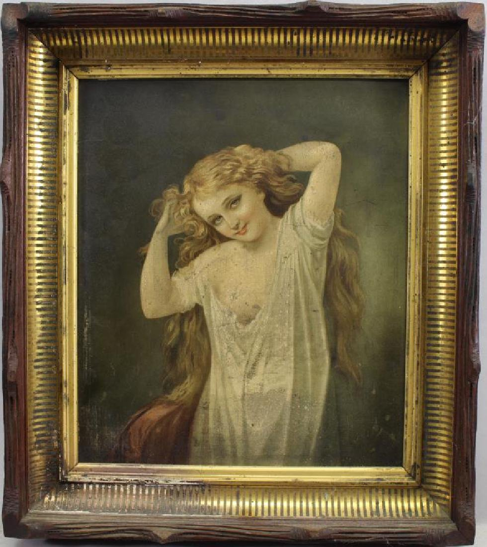 American School, Painting of a Young Girl