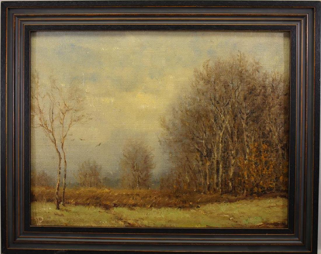 American School, Painting of Wooded Landscape