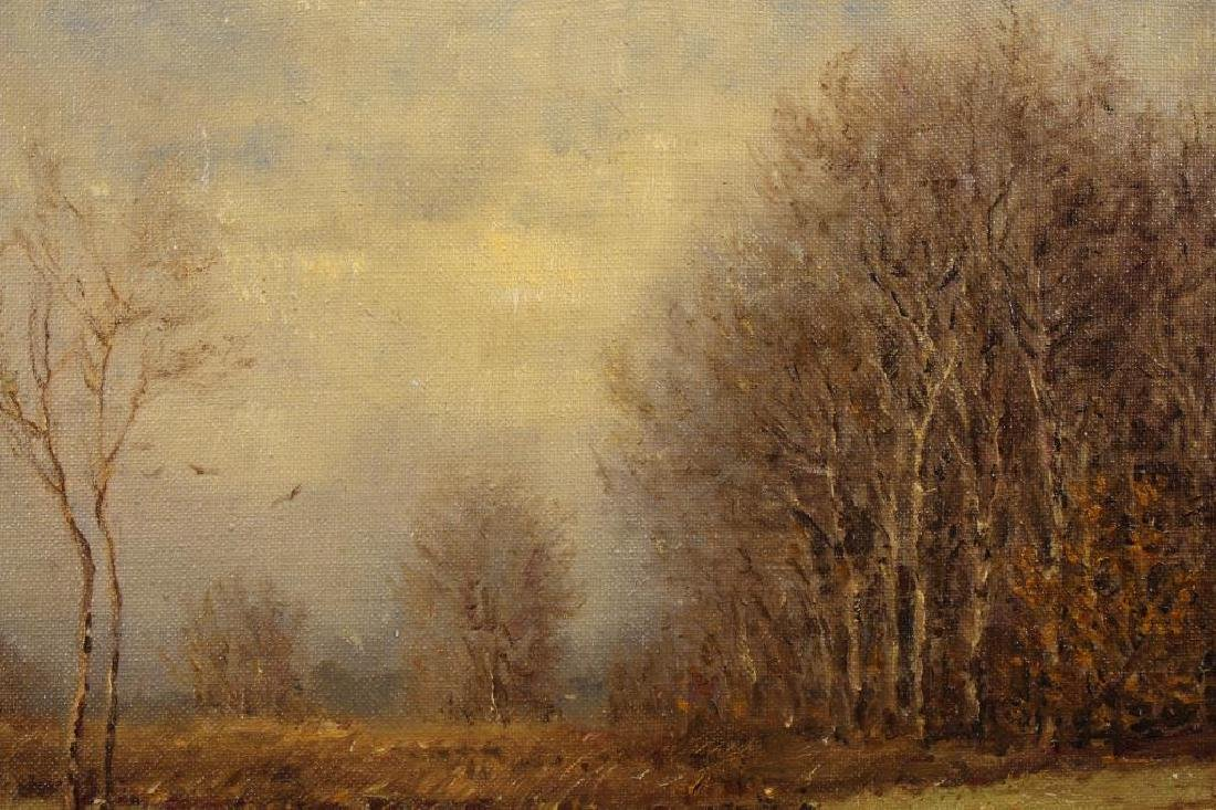 American School, Painting of Wooded Landscape - 2