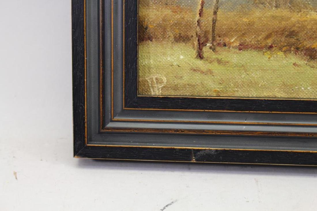 American School, Painting of Wooded Landscape - 3