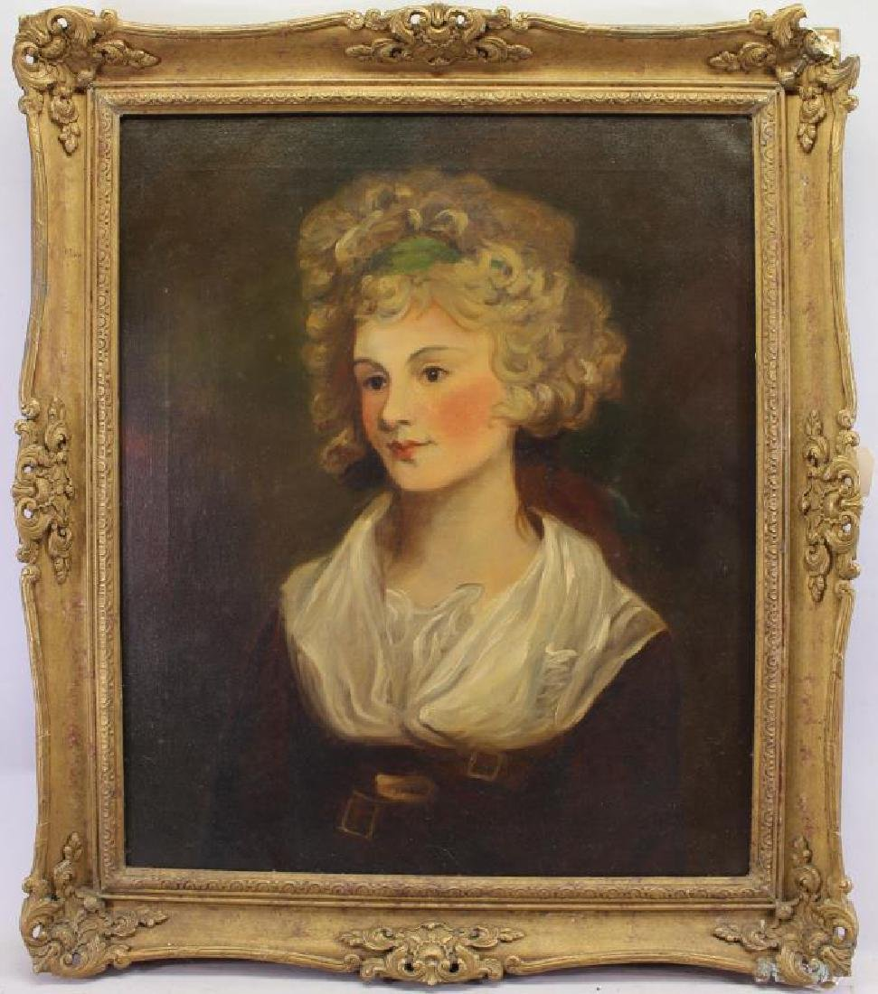 19th C. English Portrait of a Woman