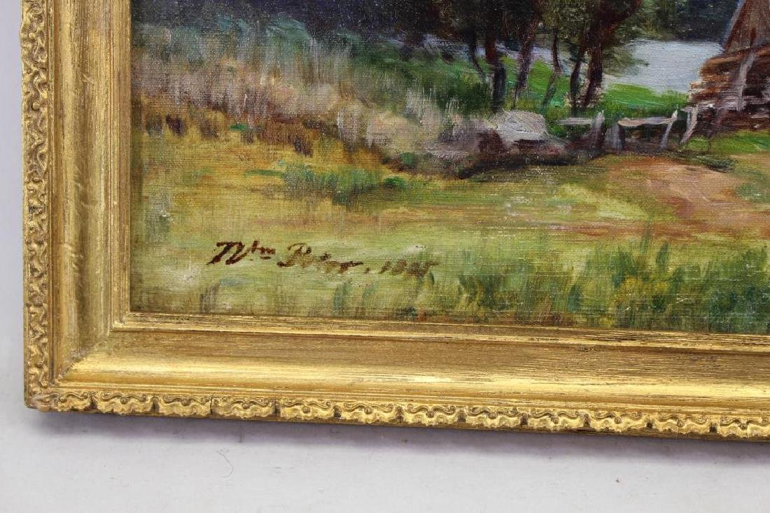 19th C. American School Country Landscape, Signed - 3