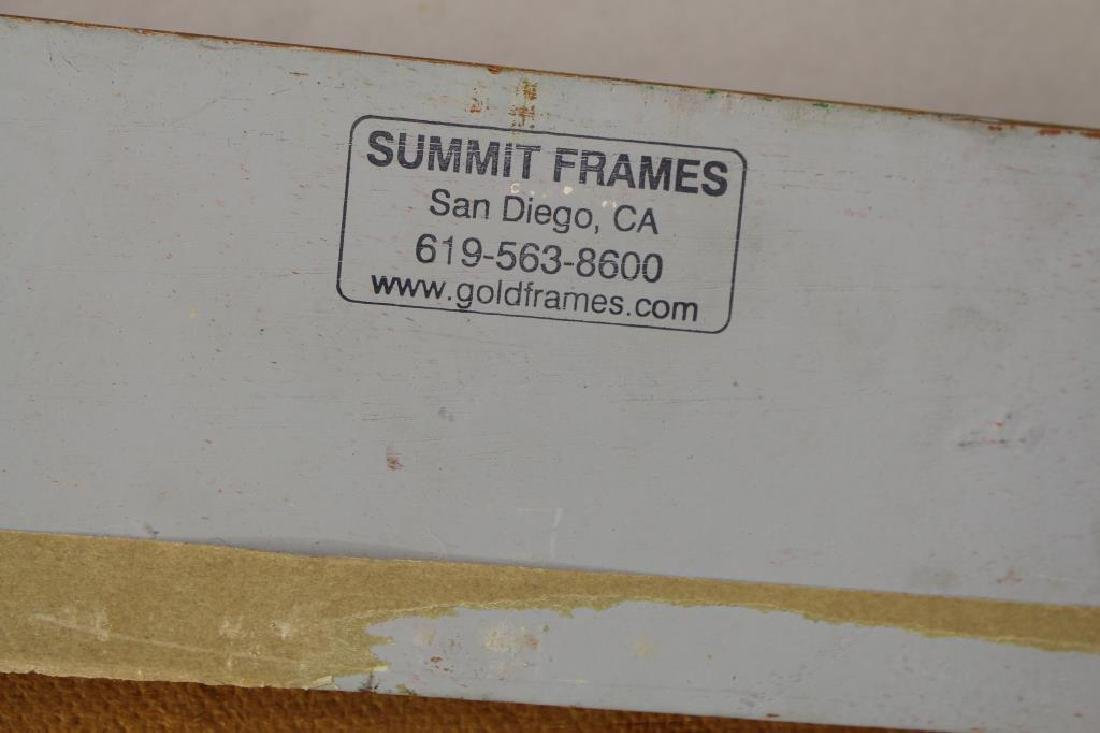 American School Painting in Gilt Summit Frame - 3