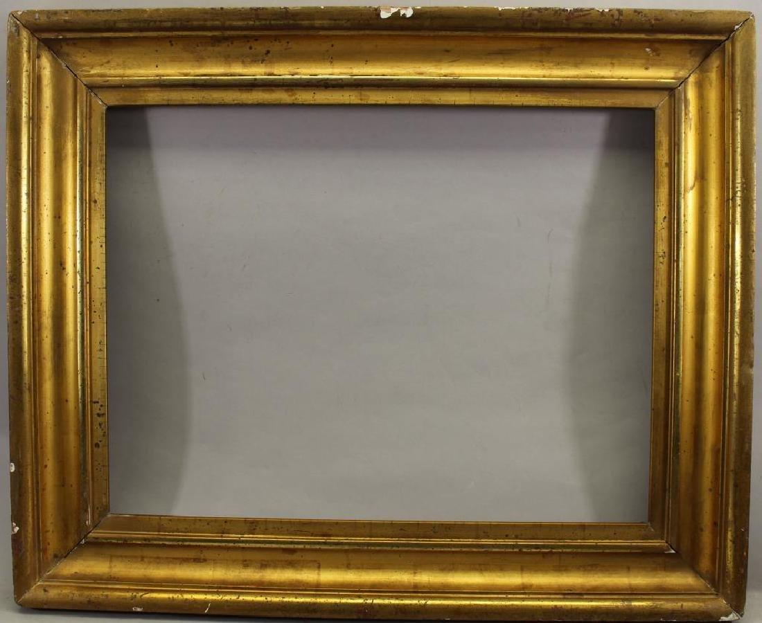 American Gilt/Wood Frame