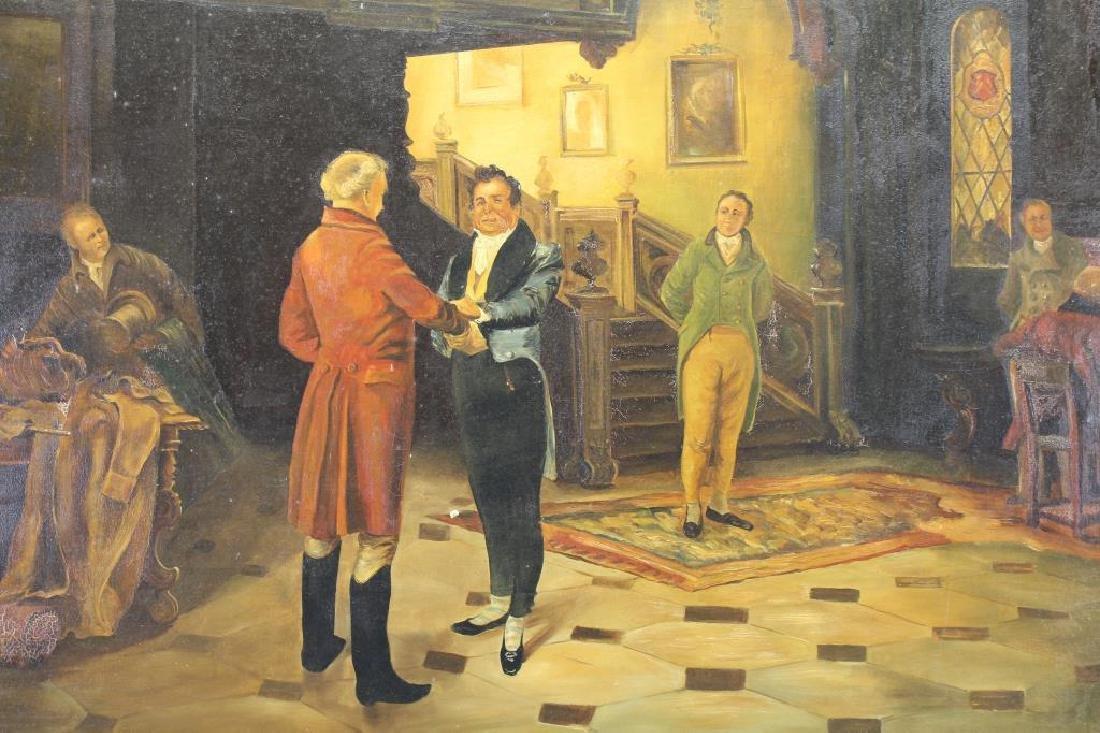 A. Rixen, Antique Interior Scene - 2